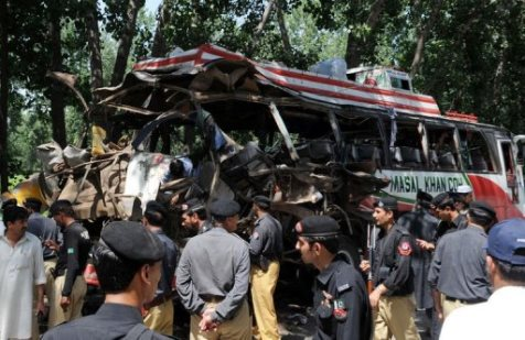At Least 17 People Died in Pakistan Due to Bus Bomb Attack
