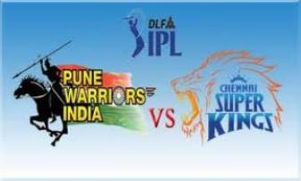Chennai Super Kings Won Against Pune Warriors India by 37 Runsd
