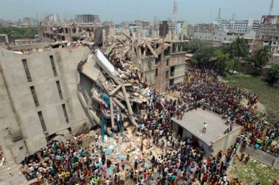 Dhaka Building Collapse yesterdays