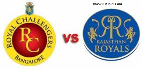 RCB Beat Rajasthan Royal easily