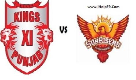 Sunrises Hyderabad Beat Kings XI Punjab