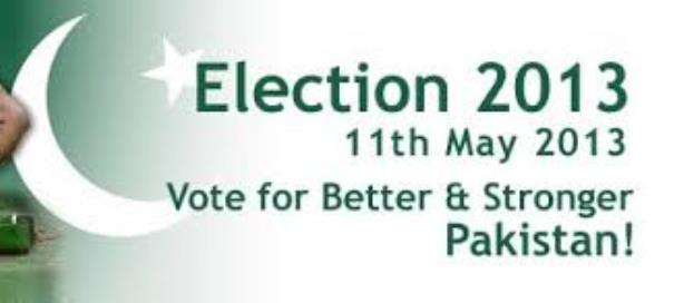 General Election 2013 in Pakistan is Underway