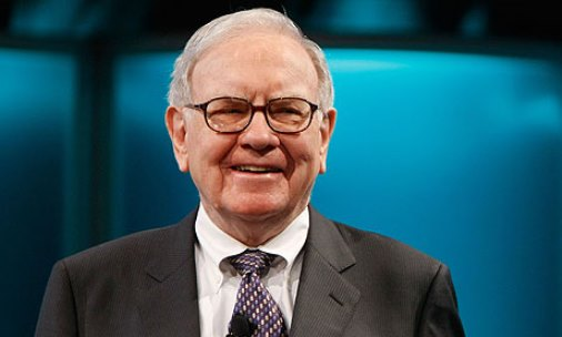 Warren Buffett is the forth richest in the world