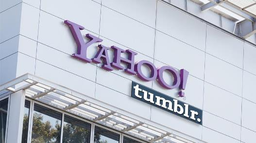 Yahoo purchased the shares of Tumblr