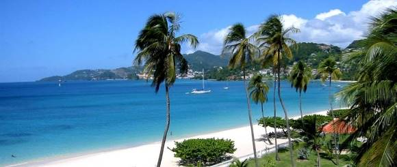 Grand Anse Beach is Fist Beautiful Beach in the World