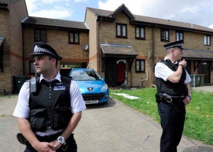 London Police Raid at Altaf Hussain House