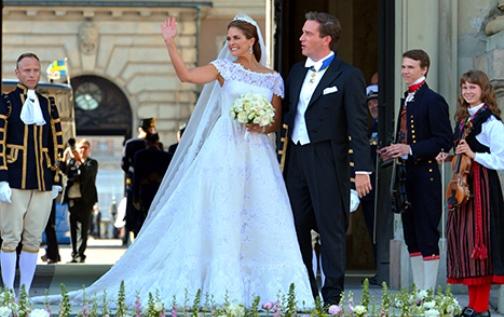 Swedish Princess Madeleine Got Married