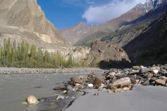 Beautiful Hunza Valley