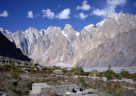 Beautiful Mountain in Hunza