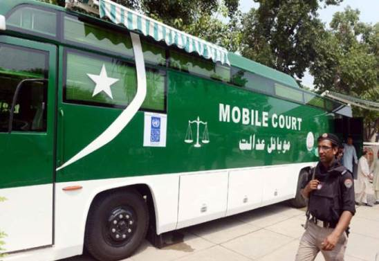 Mobile Court Service inaugurated for Instant Justice in Khyber Pakhtunkhwa
