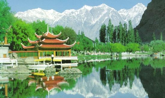 Natural Wallpaper of Hunza