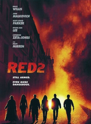 Red 2 American is scheduled to Release on 19 July 2013