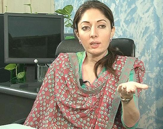 Beautiful Pakistani Politician Sharmila Farooqi