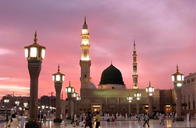 Beautiful Pic of Madina