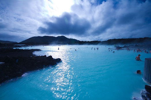 Beautiful View and HD Widescreen Wallpapers of Blue Lagoon Iceland Jamaica