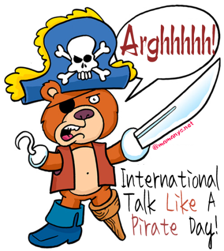 National Talk Like A Pirate Day Freebies 2013