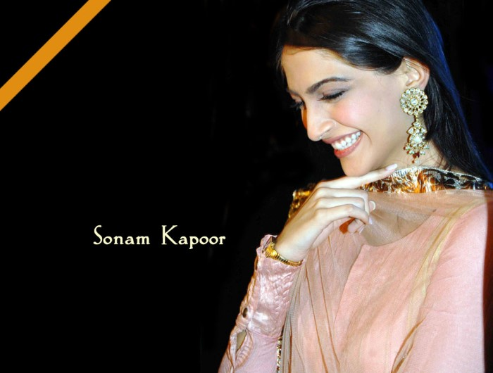 Indian Actress Sonam Kapoor