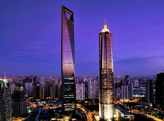 Shanghai World Financial Center 5th Tallest Building in the World