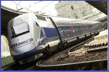 Alstom Euroduplex train