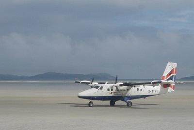 Barra International Airport Scotland