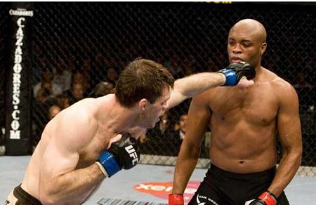 Chris Weidman Holds the UFC Belt as Anderson Silva Injured