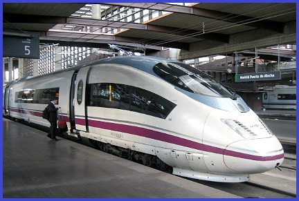 Siemens Velaro E AVS 103 Train