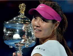Li Na Won the Australian Open 2014 Women's Single Title