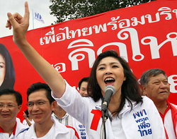 General Election in Thailand Disturbed Due to Heavy Protests