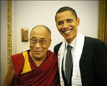 President Obama met with Dalai Lama Despite Chinese's Warning