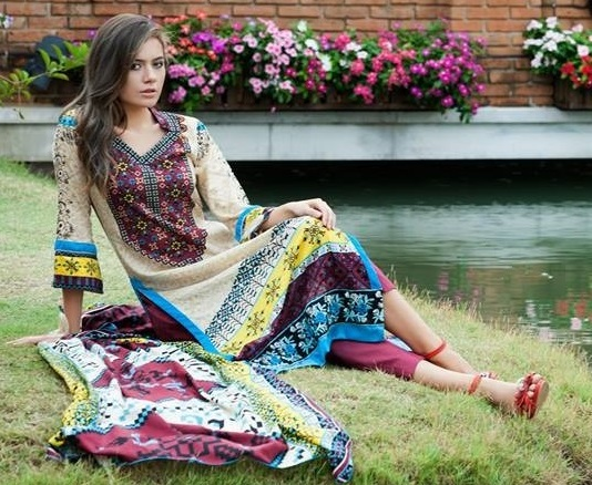 Al Zohaib Mansoon Lawn Collection 2014 for Women-6
