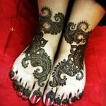 Feet Mehndi Designs 2014