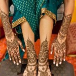 Foot Mehndi Design 2014
