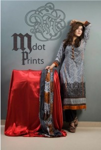 Mallal Designer Lawn Collection 2014 for Women -1