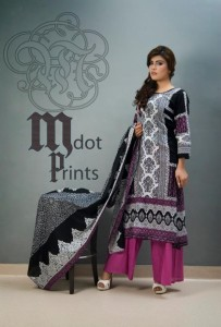 Mallal Designer Lawn Collection 2014 for Women-III