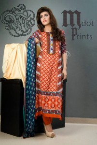 Mallal Designer Lawn Collection 2014 for Women-IV