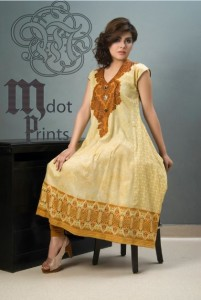 Mallal Designer Lawn Collection 2014 for Women-V