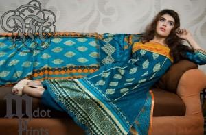 Mallal Designer Lawn Collection 2014 for Women-VI