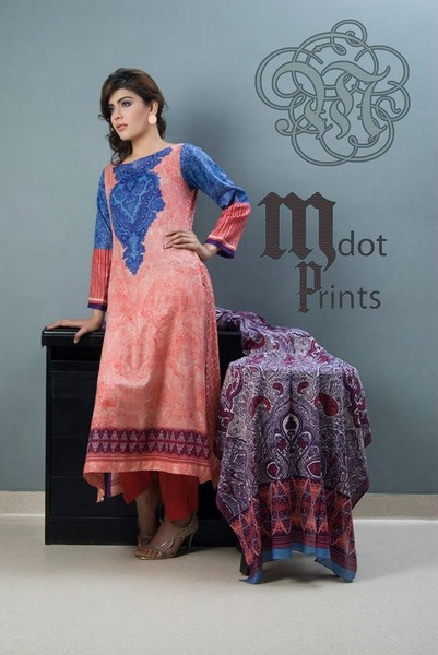 Mallal Designer Lawn Collection 2014 for Women