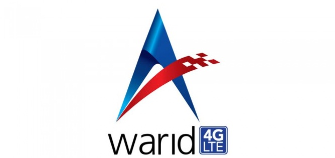 Warid 4G LTE Internet Packages for Prepaid Customers