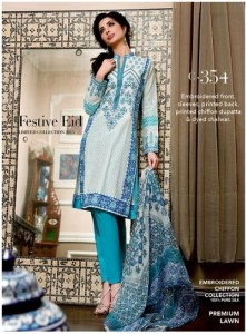 Gul Ahmed Eid Festive Dress Collection 2015-2016