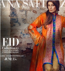 Sana Safinaz Eid Fashion Luxury Lawn Designs 2015-16