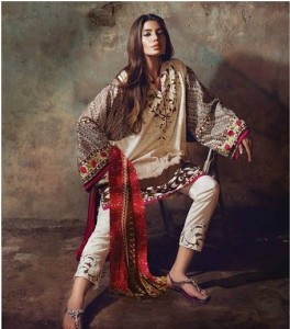 Beautiful Eid Collection 2015 by Sana and Safinaz