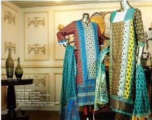 Junaid Jamshed Luminous Luxury Eid Collection 2015