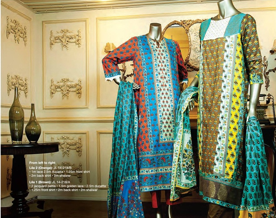 Junaid Jamshed Eid Lawn 2015 Collection