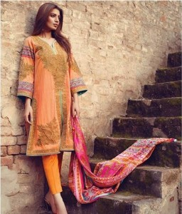 Latest Sana Safinaz Eid Collection 2015 for Girls
